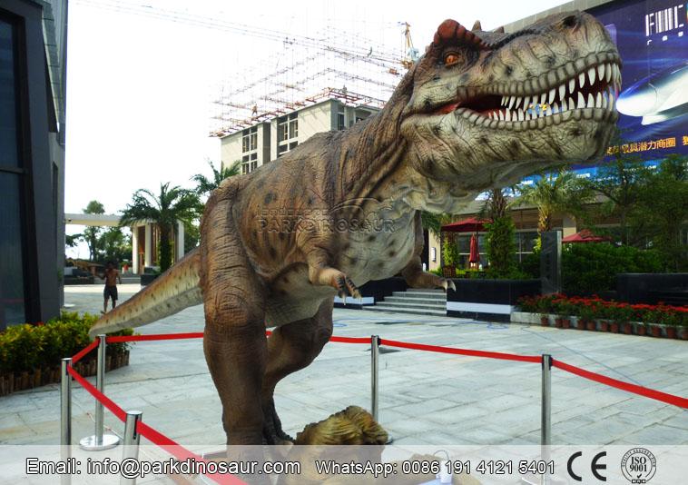 Dinosaurio La Vida Real T Rex Los robots son diseñados a escala real con movimiento y sonidos. dinosaurio la vida real t rex
